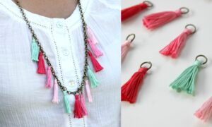 TASSELS STATEMENT NECKLACE