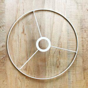 חישוק מתכת 30 להכנת אהיל - לבן