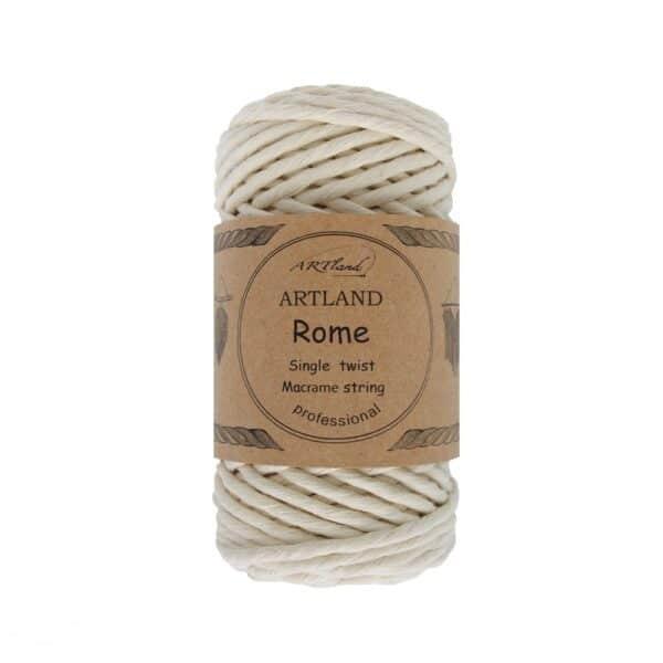חוט מקרמה סינגל טוויסט - 5 ממ - רומא אוף וואט